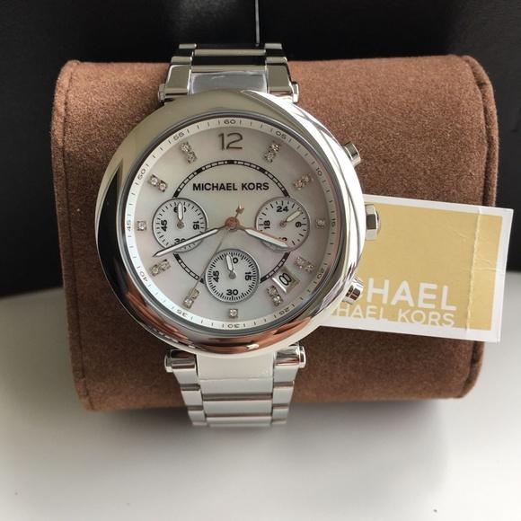 20e01c8f4a1 BRAND NEW Michael Kors Parker Ladies Watch MK5700